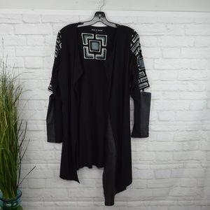 $10 Deal! Rock 'N Karma cut-out sleeve cardigan